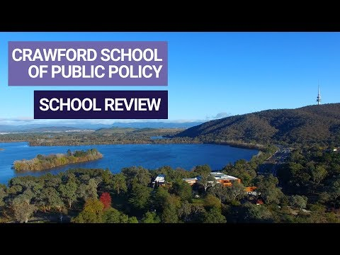Why you should study at the Crawford School of Public Policy