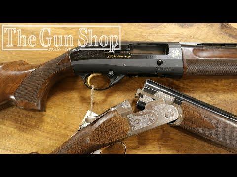 Semi-Automatic VS Over & Under Shotgun - The Gun Shop