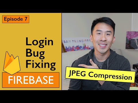 Swift: Firebase 3 - Lets Fix some Bugs and Use JPEG Image Compression (Ep 7)