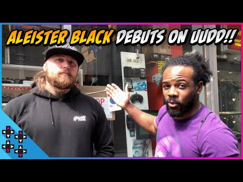 ALEISTER BLACK DEBUTS ON UUDD with a tour of Amsterdam's best gaming store!