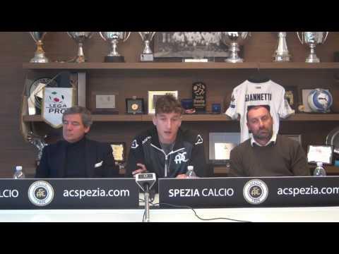 Conferenza stampa di presentazione Niccolò Giannetti - 02 febbraio 2017