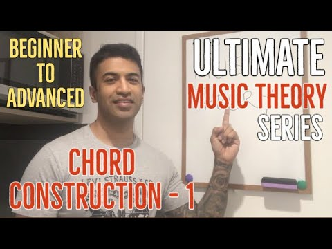 Guitar Chord Theory Lessons – Music Theory – Part 1