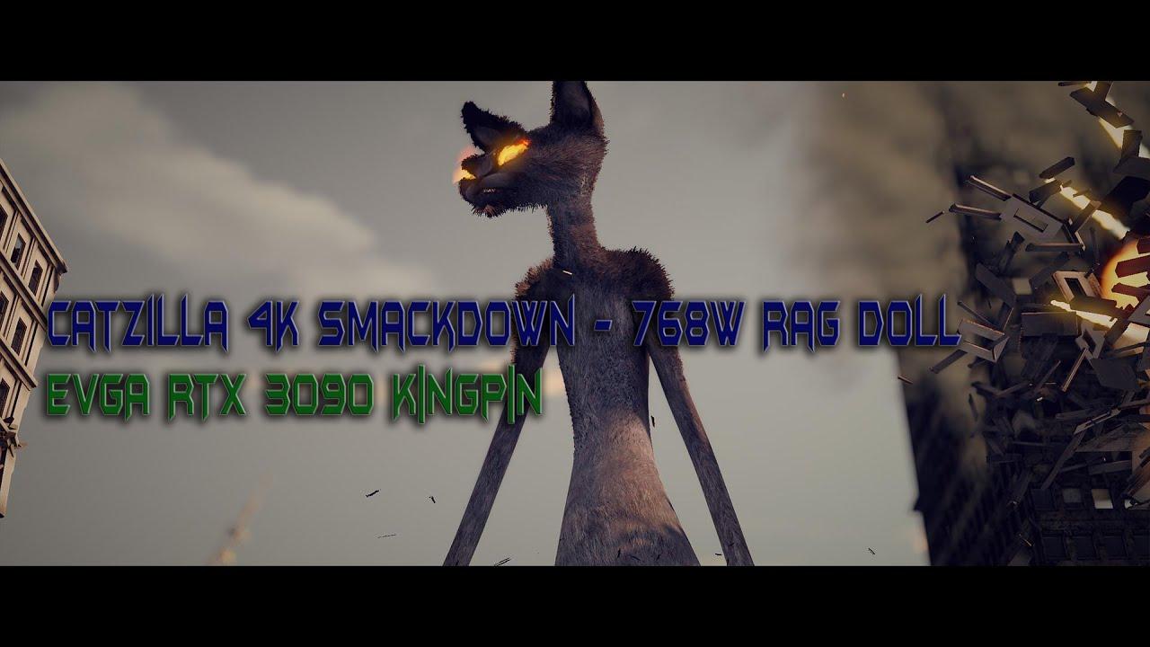 Catzilla 4K Smackdown - 3090 K|NGP|N 768W Rag Doll