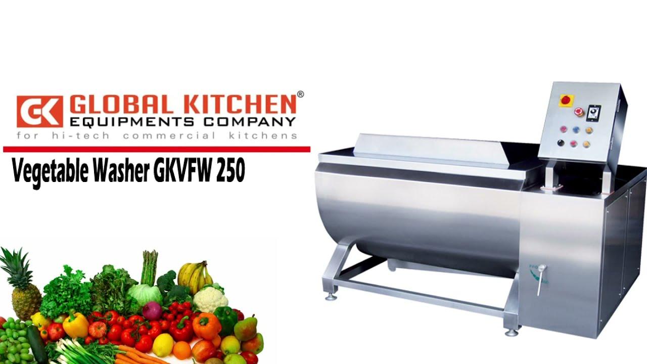 Vegetable washing machine - global
