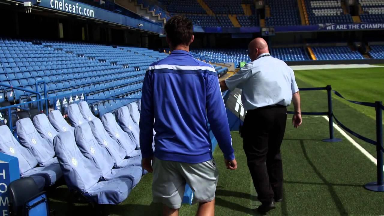 Dominic Thiem visits Chelsea FC - YouTube