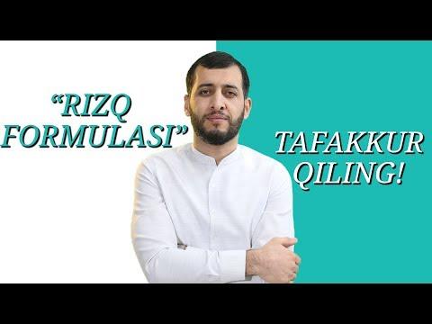 RIZQ FORMULASI | TAFAKKUR QILING!