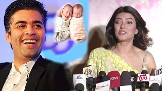 Sushmita Sen's BEST Reply On Karan Johar Becoming A Surrogate Parent Like Her