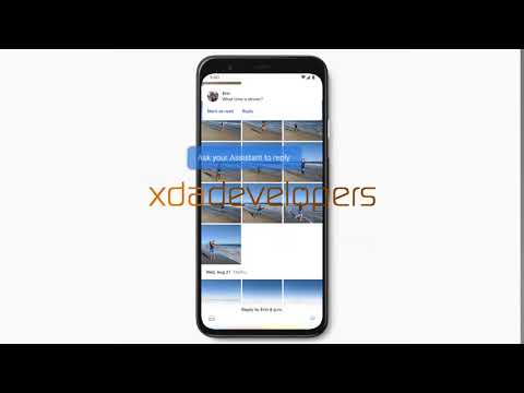 Google Pixel 4 New Assistant Messages Reply