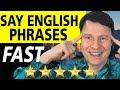 😎SUPER Speak American accent fast😎 | Get phrasal verbs Pronunciation lesson, dialogue, free quiz