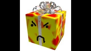 ho aperto il grande regalo scatola roblox (delusione)