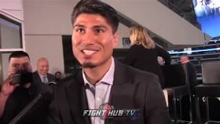MIKEY GARCIA'S FULL MEDIA SCRUM FROM DALLAS FOR HIS ERROL SPENCE JR FIGHT