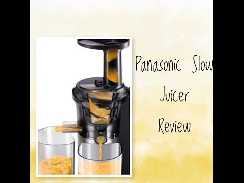 Panasonic Slow Juicer Test : MJL500 Panasonic Slow Juicer #7597 on Go Drama