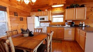"""Alone at Last"" 1 Bedroom Cabin Close To Dollywood and Pigeon Forge, TN - Cabins USA 2014"