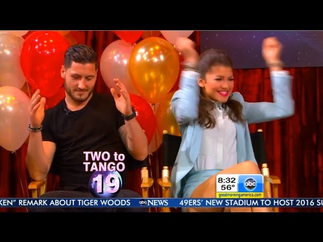 GMA DWTS Afterparty ~ Two To Tango ~ 5-22-13 ~ Val Is On Point ~ SO Cute!