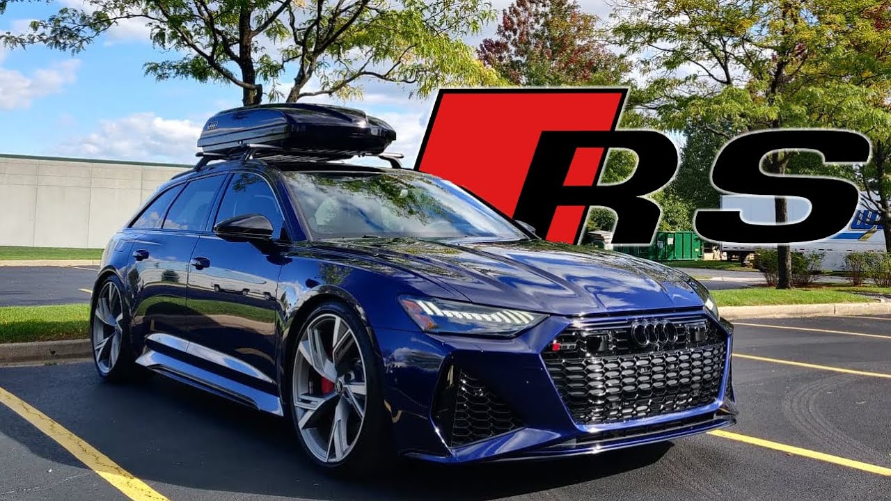 FINALLY...2021 Audi RS6 Avant!!! - YouTube