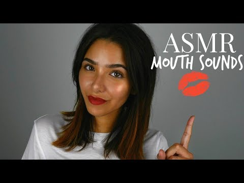 ASMR Mouth Sounds (+ Tk, Sk, Tongue clicking, Kissing sounds, Breathing, Face Touching..) thumbnail