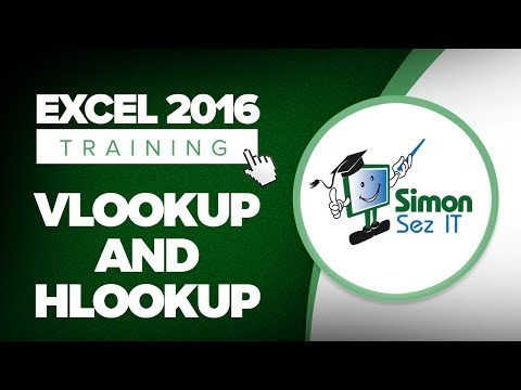 How to Use the VLOOKUP and HLOOKUP Functions in Microsoft Excel 2016