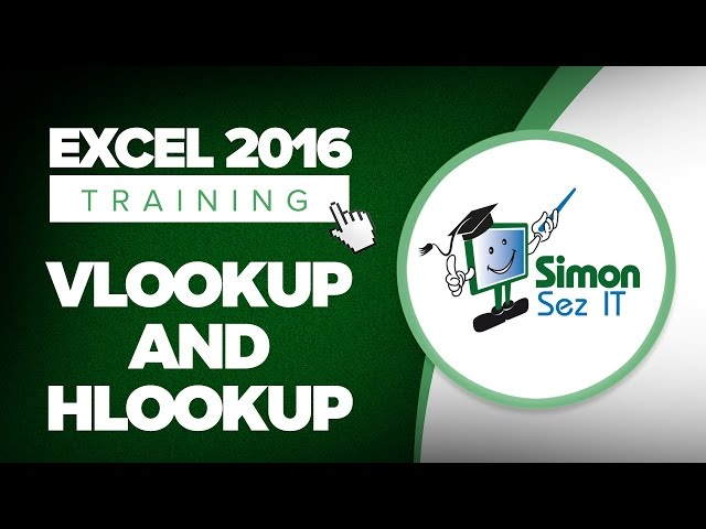 Microsoft Excel 2016 Advanced Training Tutorials