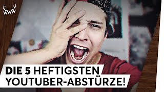 DIE 5 HEFTIGSTEN YOUTUBER-ABSTÜRZE! | TOP 5