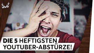 DIE 5 HEFTIGSTEN YOUTUBER-ABSTÜRZE! | TOP 5
