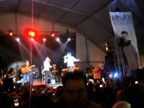 ANDY Y LUCAS - LA LLAMA DEL AMOR , CARITA MORENA , MARIA ( Getafe 2012 ) ♥