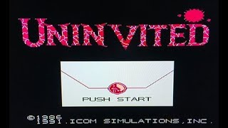 Uninvited Speedrun (Nes) - Without dying