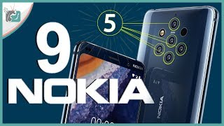 نوكيا 9 - Nokia 9 رسميا | ملك التصوير الجديد؟ بخمس كاميرات خلفية