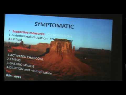 Toxicology - Dr.Ablaa-  ( Corrosives ) - Part 2