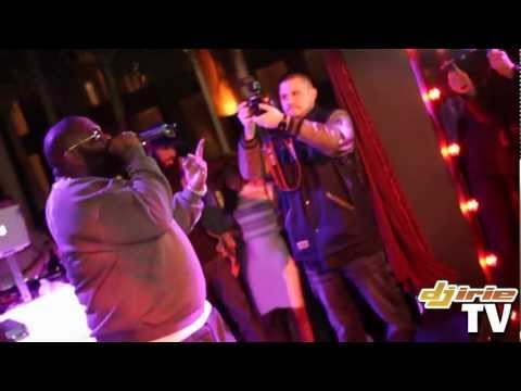 "Rick Ross ""Ima Boss"" & ""John"" LIVE @DwyaneWade's 30th Birthday Party With DJ Irie - Setai 1/15/12"