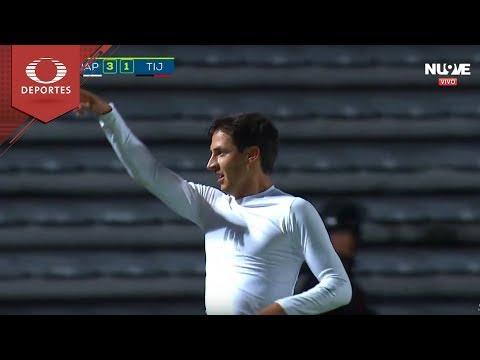 Gol de Mauro Lainez | Lobos BUAP 3 - 1 Tijuana | Apertura 2018 - J15 | Televisa Deportes