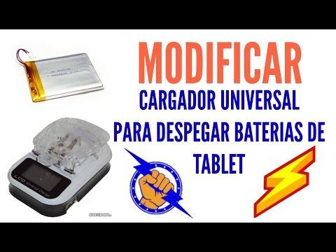 dcb0c1c0e13 MODIFICAR CARGADOR UNIVERSAL PARA DESPEGAR Y CARGAR BATERÍAS DE CABLE