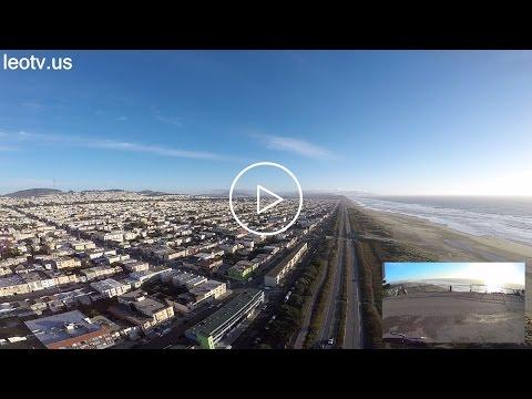 Emergency Landing on Ocean Beach San Francisco, DJI Phantom 2, Long Range Test (length:20:29)