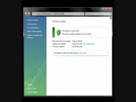 Windows Update Error 80070426 Vista ***FIX***