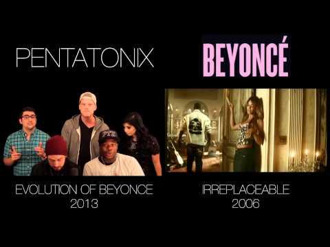 Evolution of Beyoncé - Pentatonix (side by side)
