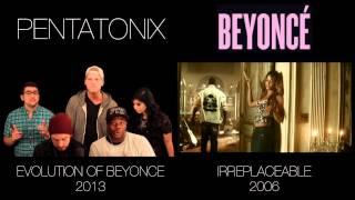 Скачать Evolution Of Beyoncé Pentatonix Side By Side