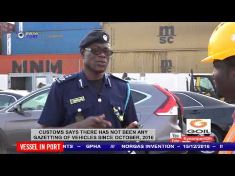 CUSTOMS DENIES CONFISCATED VEHICLES ARE BEING MOVED FROM THE TEMA PORT