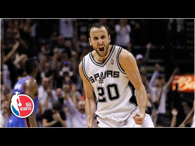 San Antonio Spurs players who have played with and against Manu Ginobili reflect on the competitiveness and intelligence of the Argentine star and recall some of their favorite moments from Ginobili's iconic career.