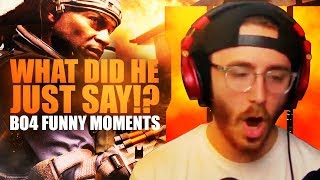 WHAT DID HE JUST SAY!? - Black Ops 4 Beta Funny Moments