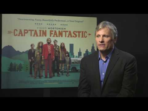 Viggo Mortensen - Interview with the Captain Fantastic & Lord Of The Rings Actor