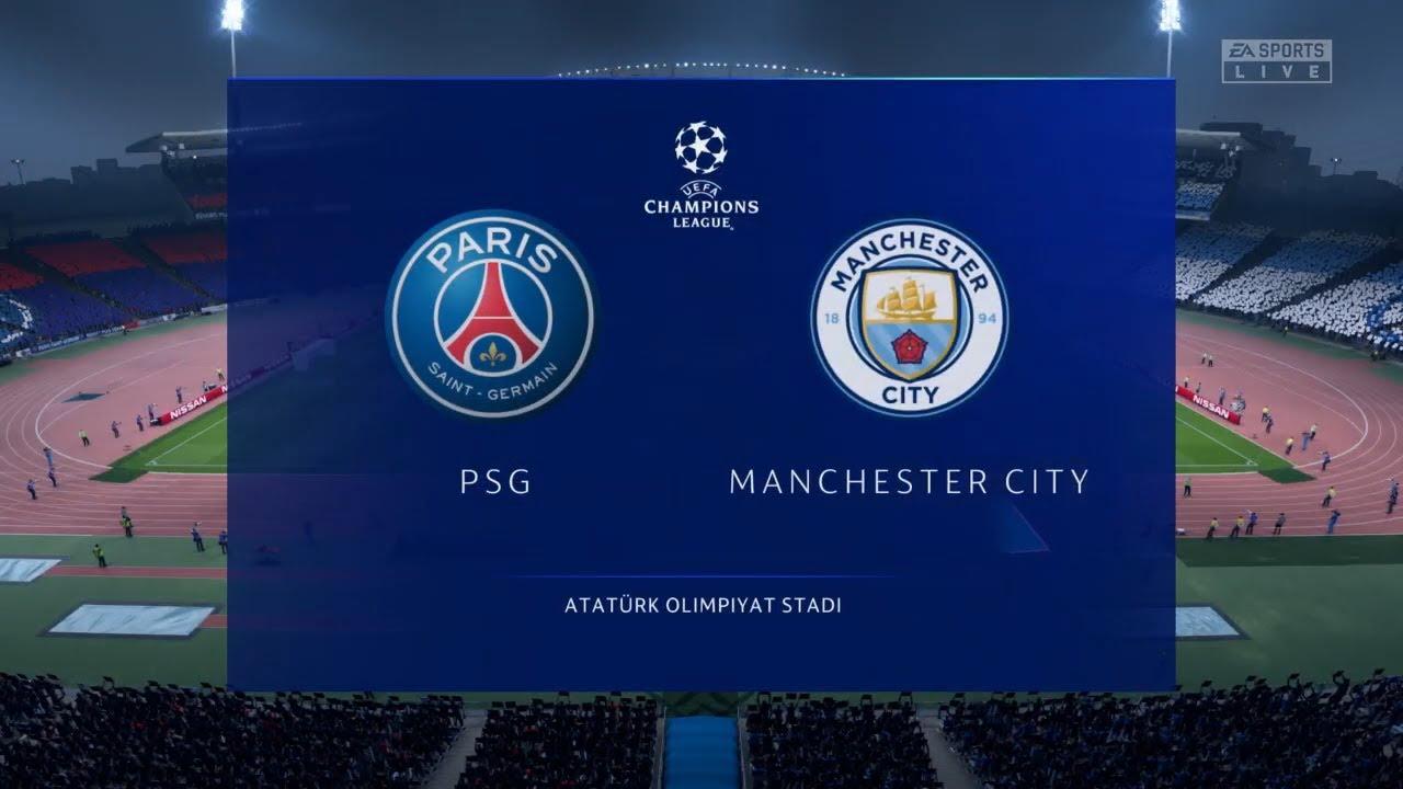 PSG vs Manchester City | UEFA Champions League Final 2020 Prediction -  YouTube
