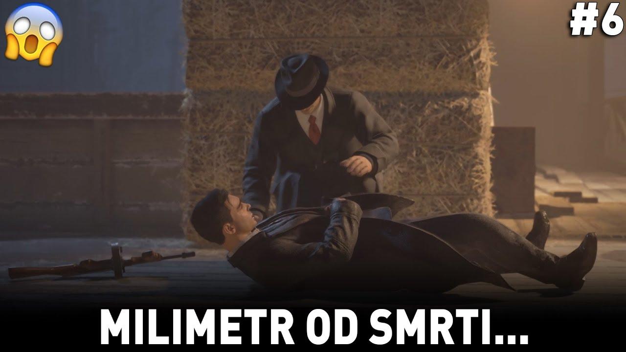 MILIMETR OD SMRTI... 🥶 [MAFIA 1: DEFINITIVE EDITION #6]