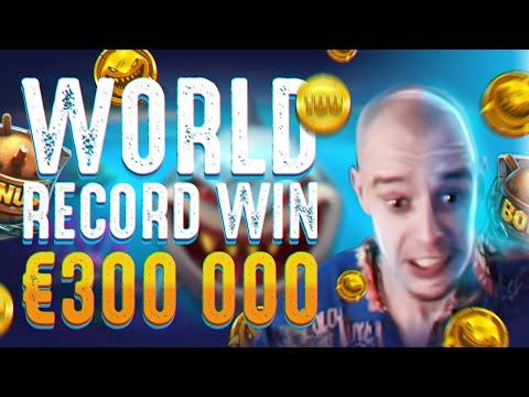 WORLD RECORD WIN. Slot machine Razor Shark big win. Online casino PF