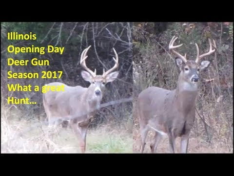 Illinois Opening Day Deer Gun Season 2017 What a great Hunt...