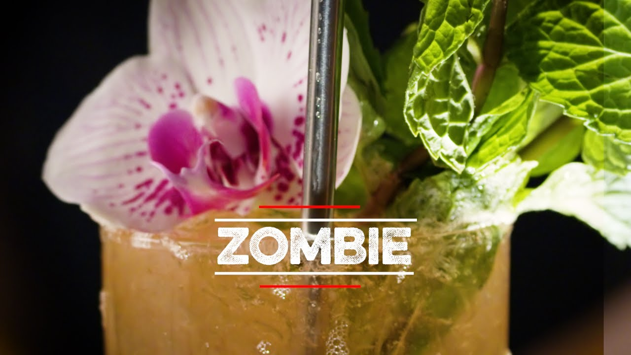 How To Drink: Zombie