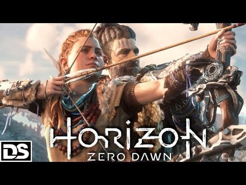 Horizon Zero Dawn Gameplay German PS4 - Lets Play Horizon Zero Dawn Deutsch DerSorbus