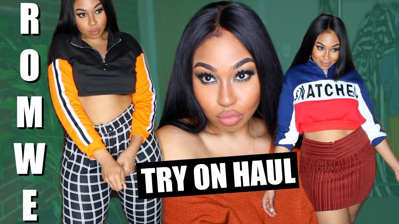 fa40a3822c1 FALL ROMWE TRY ON HAUL ! SLAY ON A BUDGET SIS!
