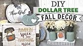 DIY Dollar Tree FALL Decor 2019Farmhouse Autumn Dollar Tree DecorKrafts by Katelyn