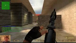 "Стрим игры ""Counter Strike Sourse v89""."