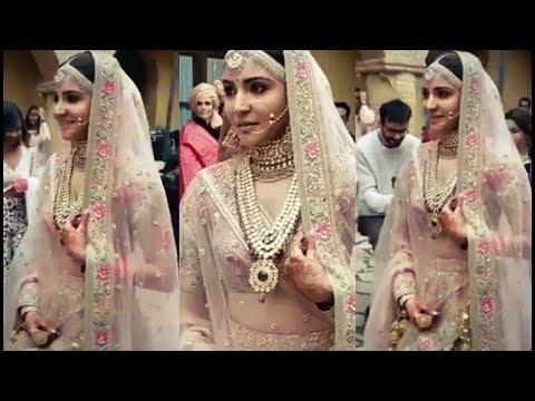 Anushka BRIDE ENTRY SONG Din Shagna Da BY JASLEEN ROYAL FULL HD