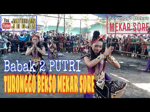 Jathilan Putri TURONGGO BEKSO MEKAR SORE   Part 1